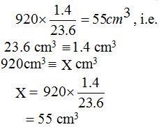 Analyze a solution of potassium hydroxide using standard